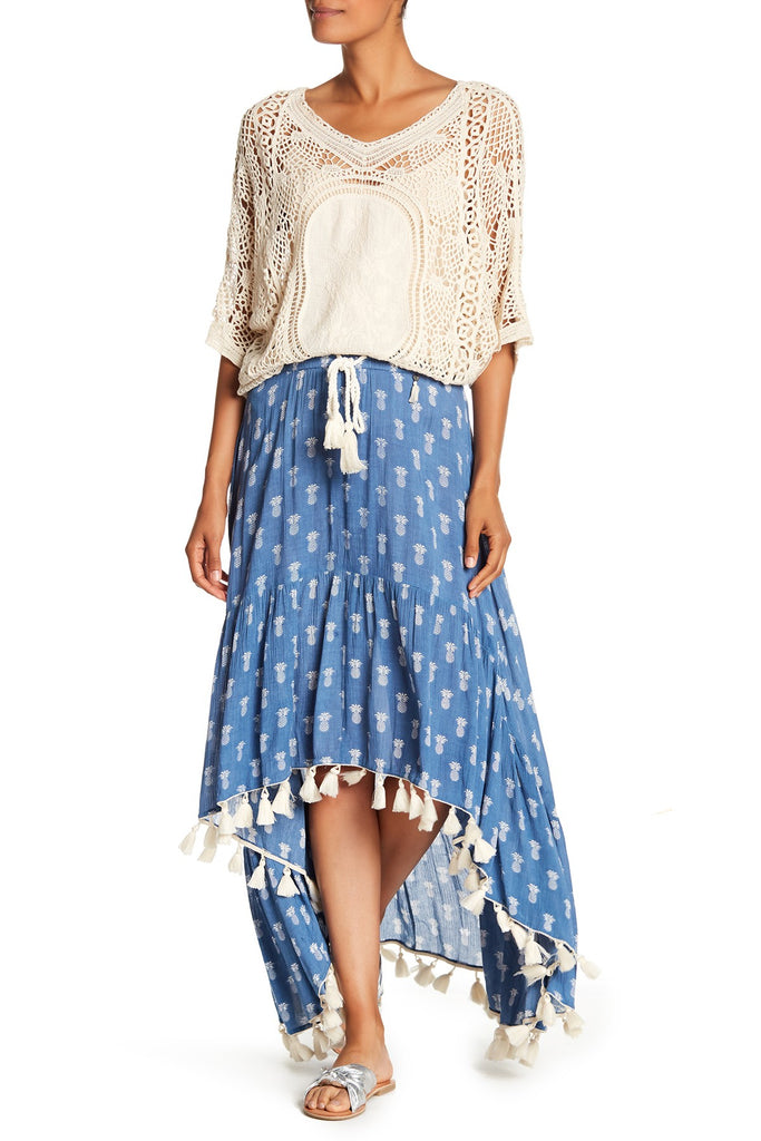 Pineapple Hi-Lo Skirt