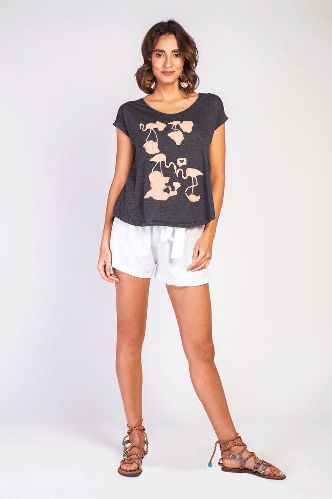 Flamingo Love Tee - Z&L Europe