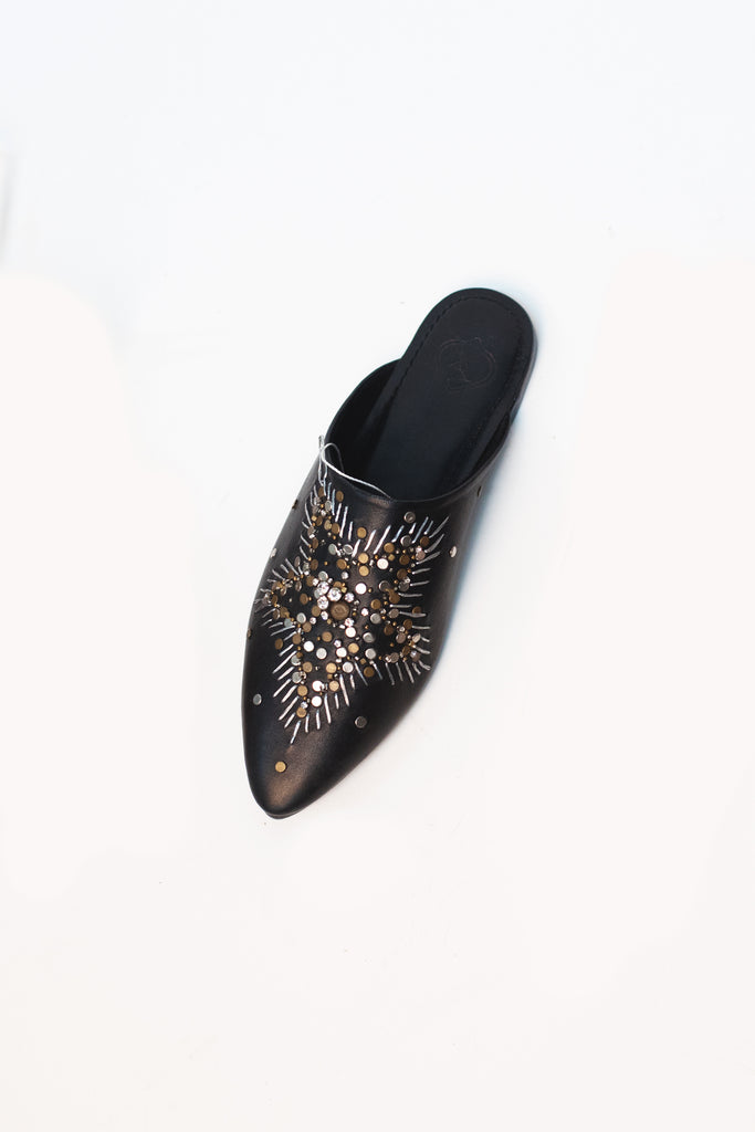 Pointed Studded Slide