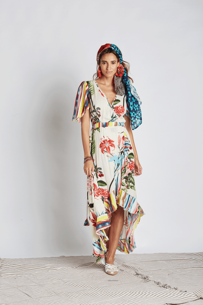 Botanical Maxi Dress - Z&L Europe