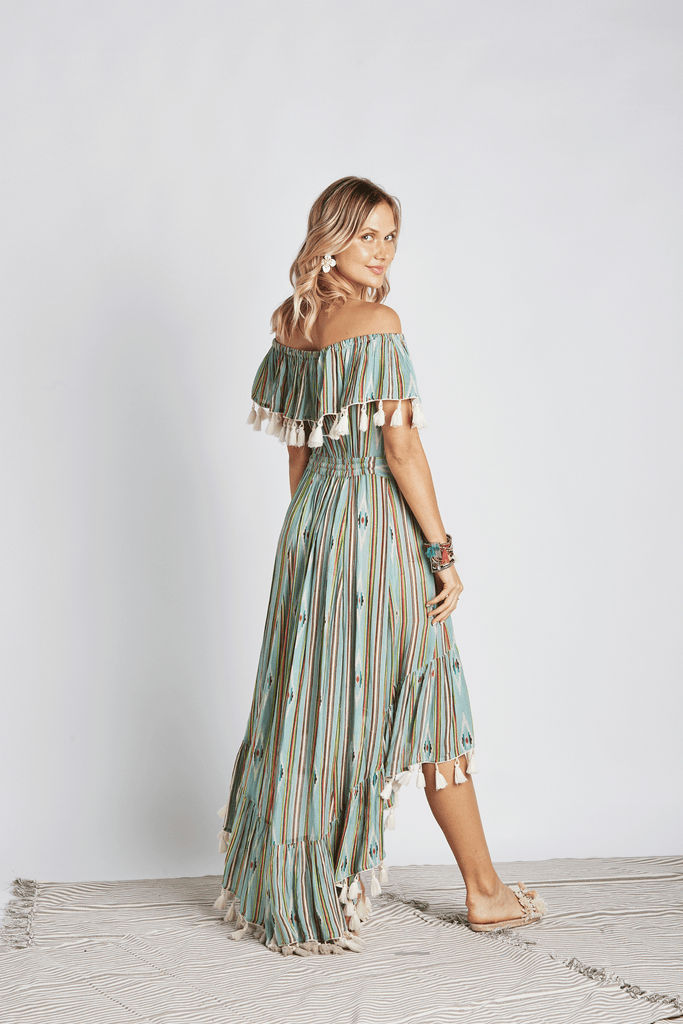 Seminole Off-The-Shoulder Dress