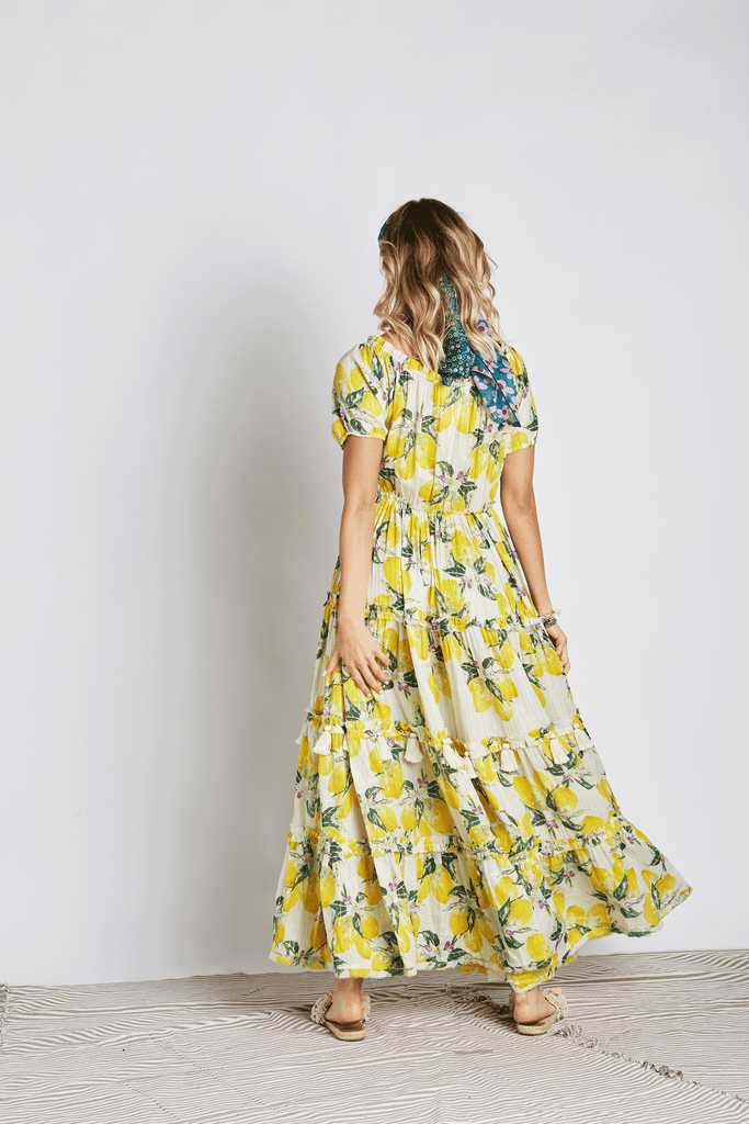 Lemonade Maxi Dress - Z&L Europe