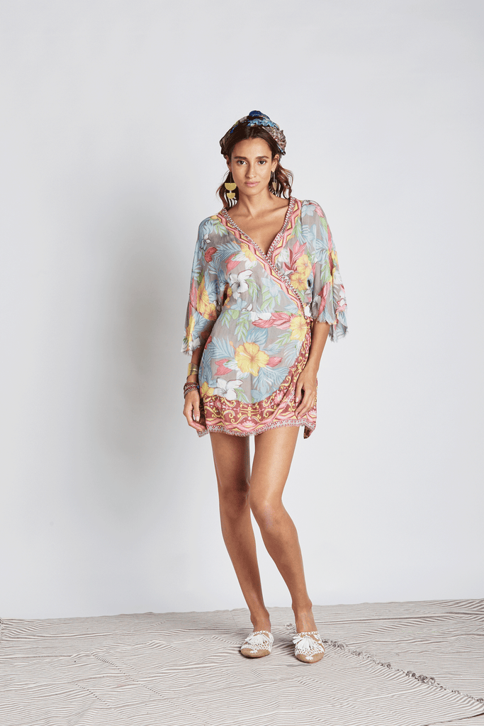 Flowers Bengala Mini Dress