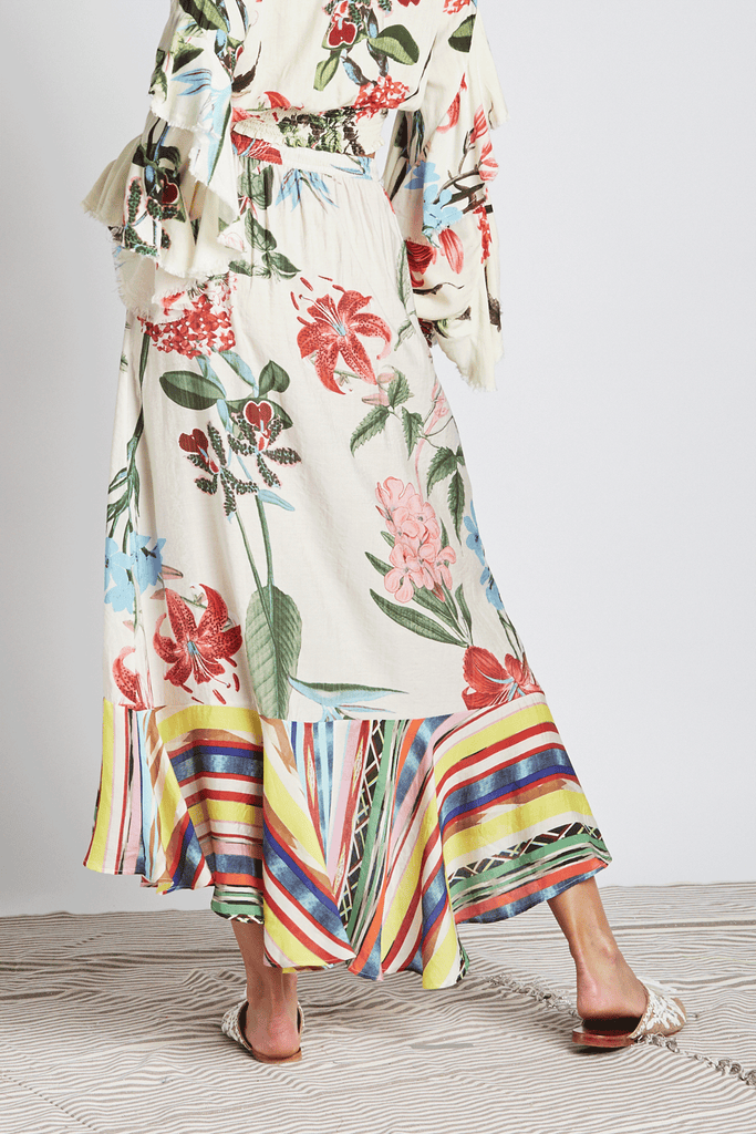 Botanical Maxi Skirt - Z&L Europe