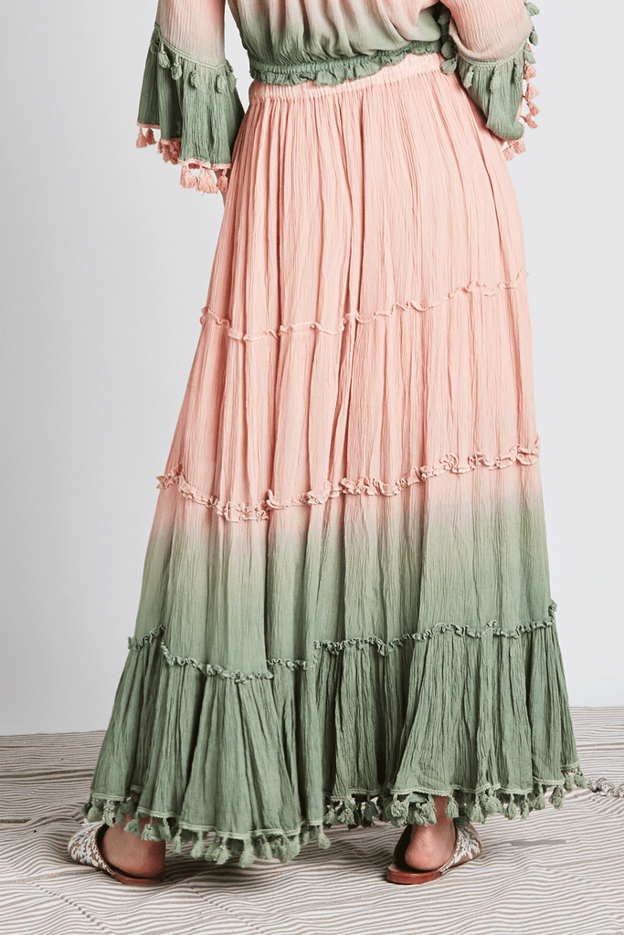 Ombre Heaven Maxi Skirt - Z&L Europe