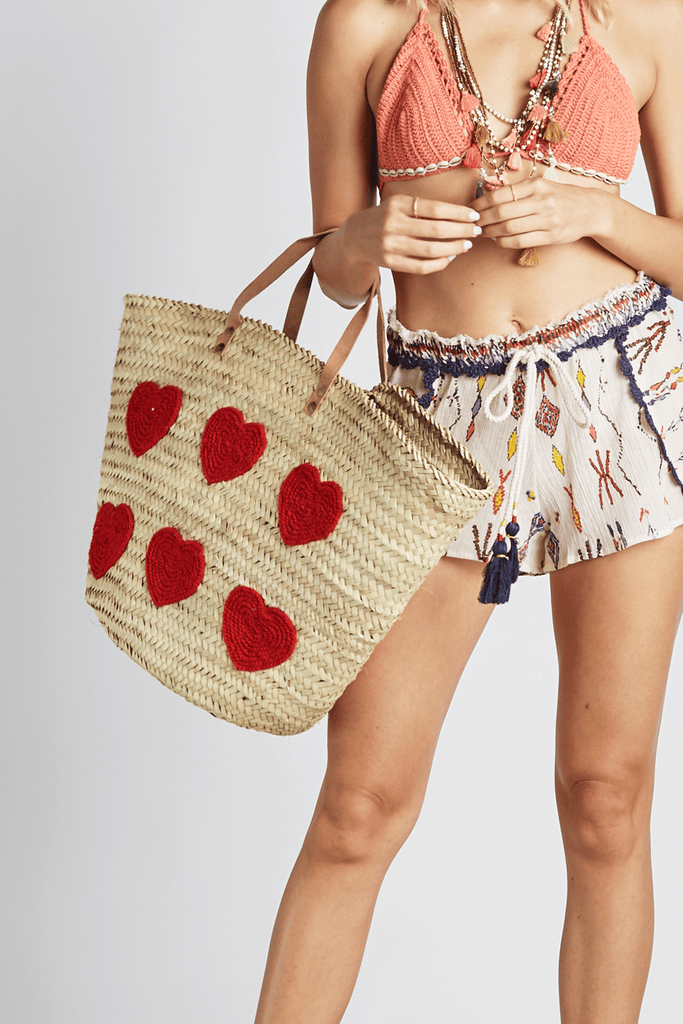 Queen of Hearts Beach Bag - Z&L Europe