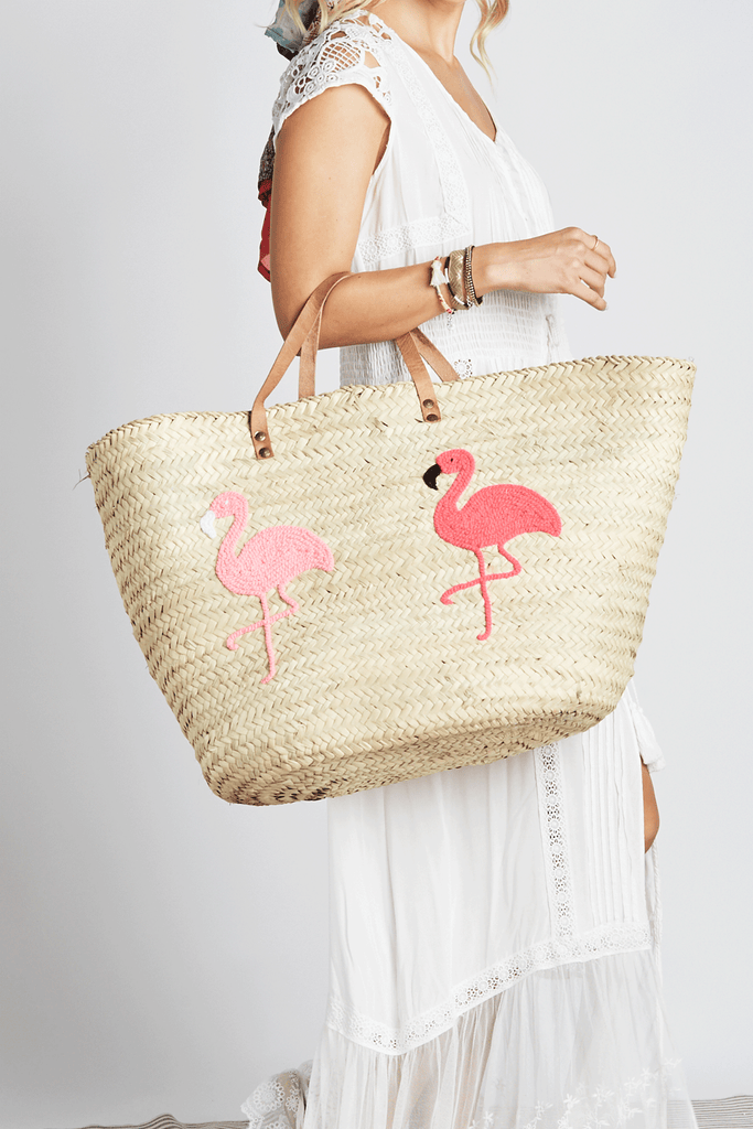 Flamingo Love Beach Bag - Z&L Europe