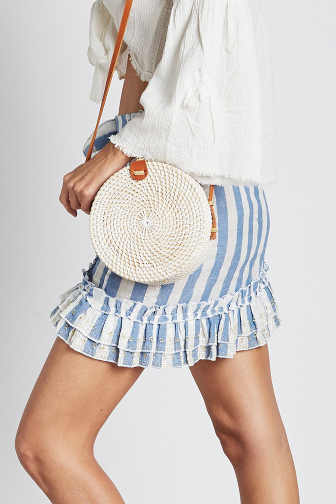 Wicker Round Bag