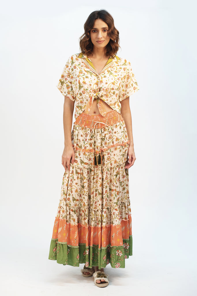 Wild Prairie Maxi Skirt - Z&L Europe