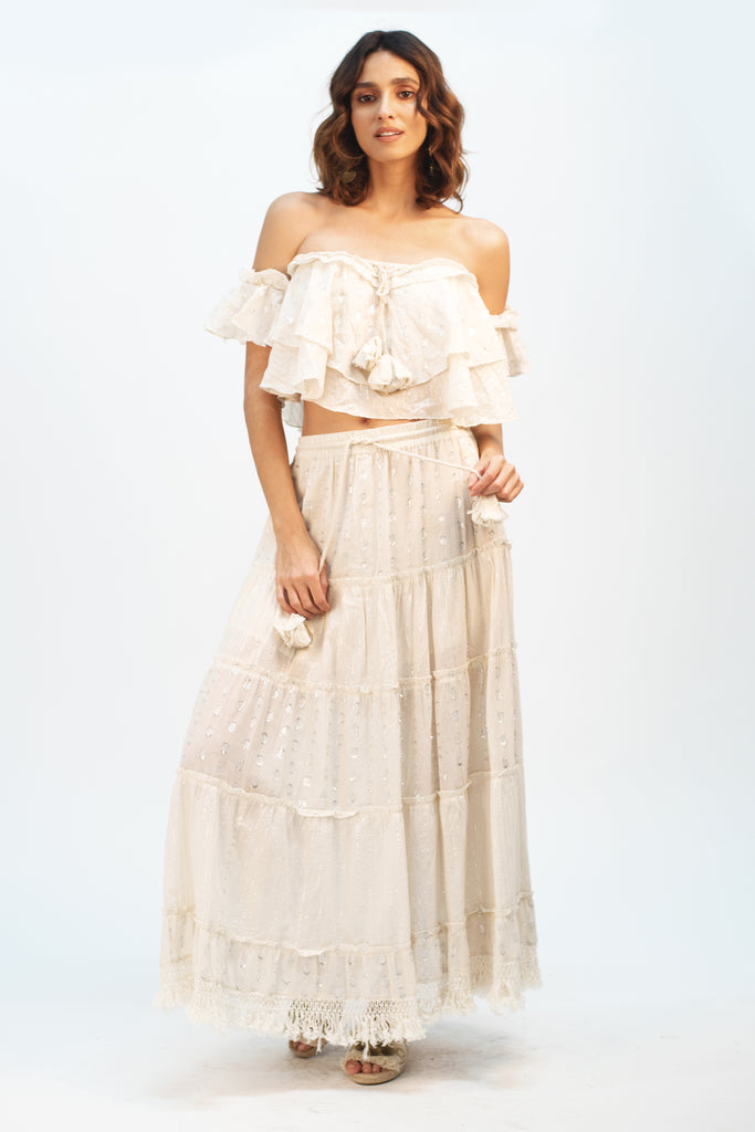 Saddle Up Maxi Skirt - Z&L Europe