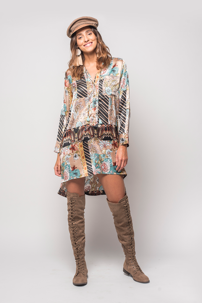 Bohemia Tunic Dress - Z&L Europe