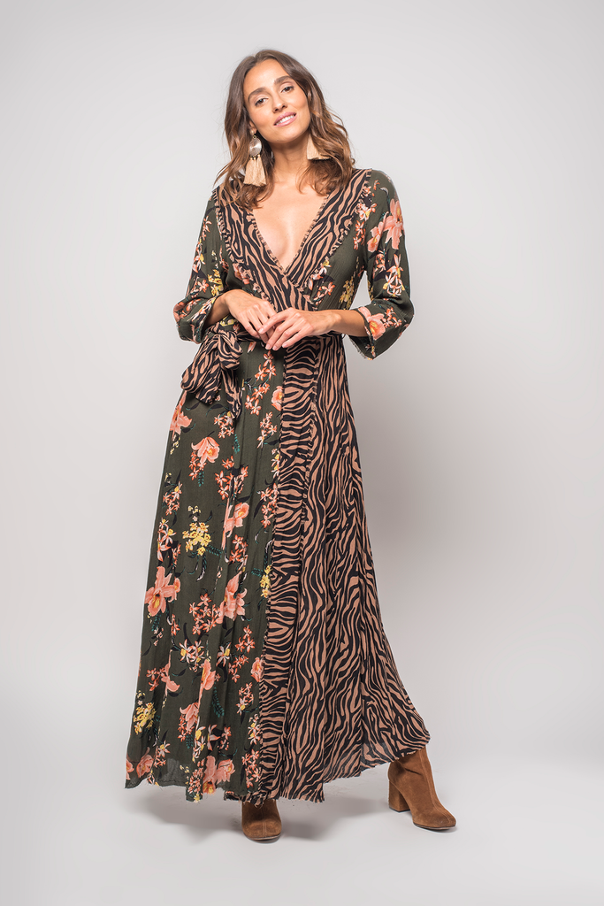 Panthera Maxi Dress - Z&L Europe