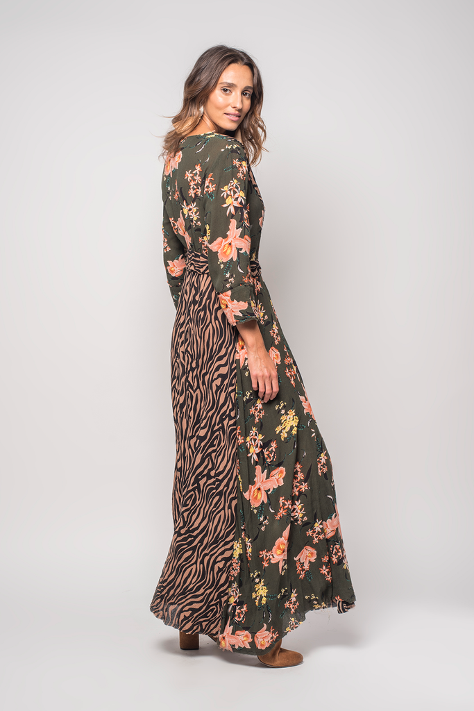 Panthera Maxi Dress