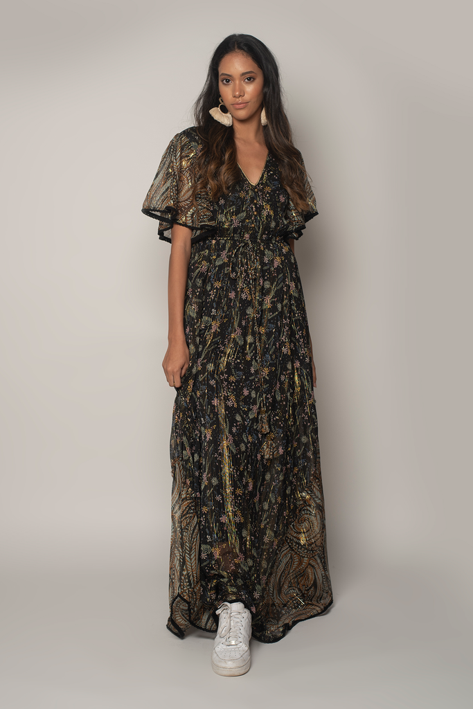 Fireworks Maxi Dress