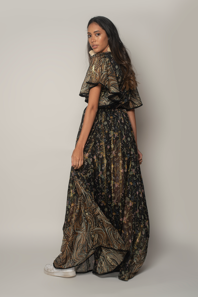 Fireworks Maxi Dress - Z&L Europe