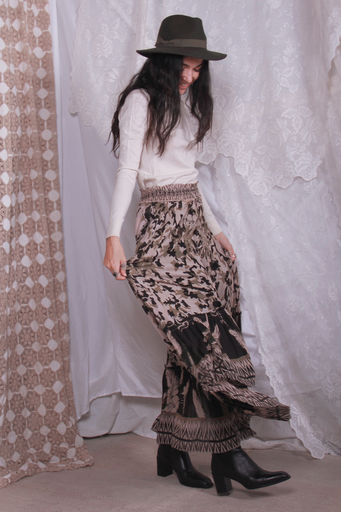 Outlaw Maxi Skirt