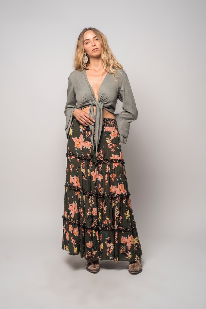 Panthera Maxi Skirt