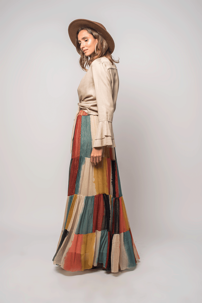 Amalfi Maxi Skirt - Z&L Europe