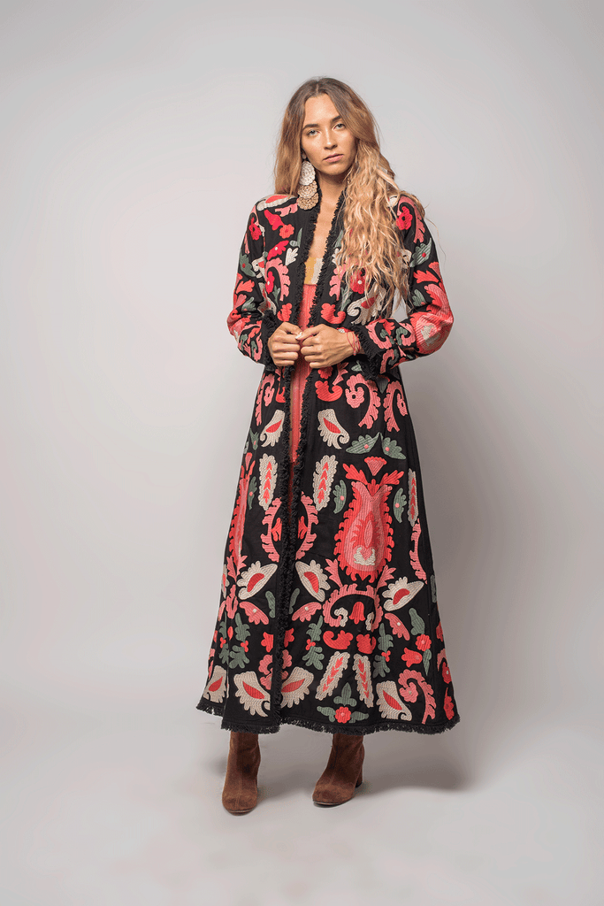 Flower Bomb Coat - Z&L Europe