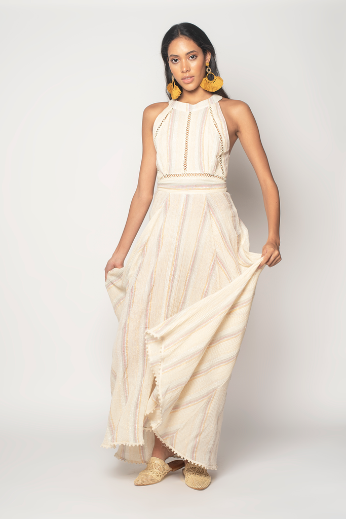 Golden Slumbers Maxi Dress - Z&L Europe