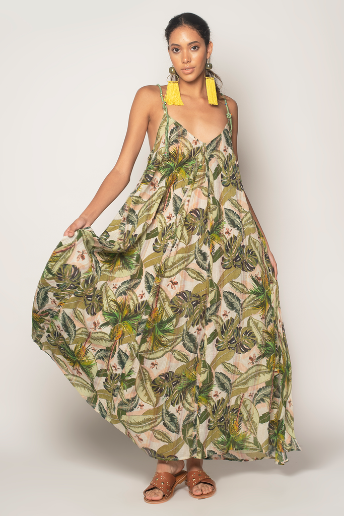 Rio Jungle Maxi Dress - Z&L Europe