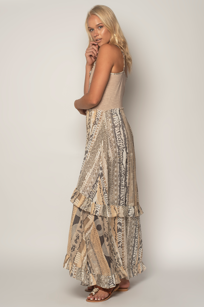 Jamming T-Shirt Maxi Dress - Z&L Europe
