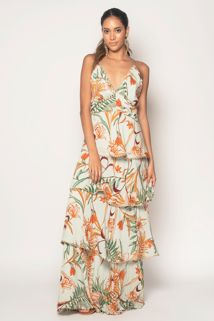Forever Fields Maxi Dress - Z&L Europe