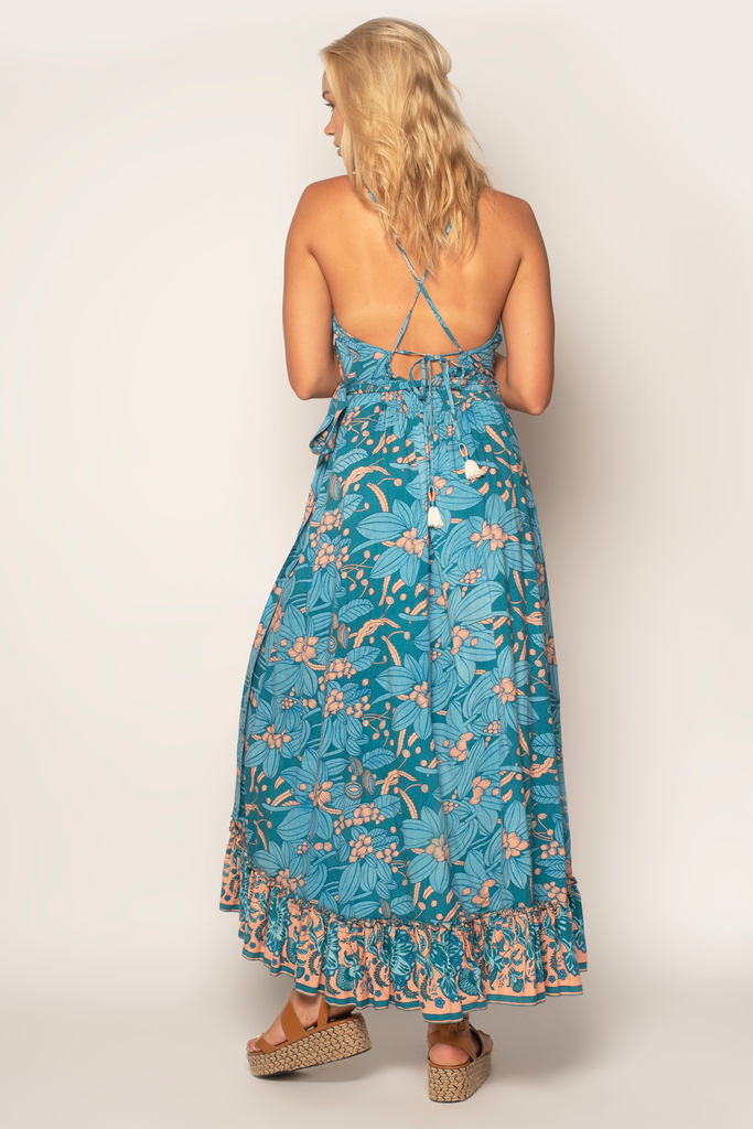Summer Wind Maxi Dress - Z&L Europe