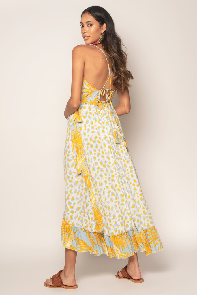 Bananarama Maxi Dress - Z&L Europe
