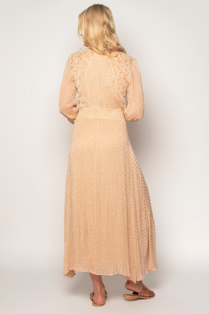 Dirty Rose Maxi Dress - Z&L Europe