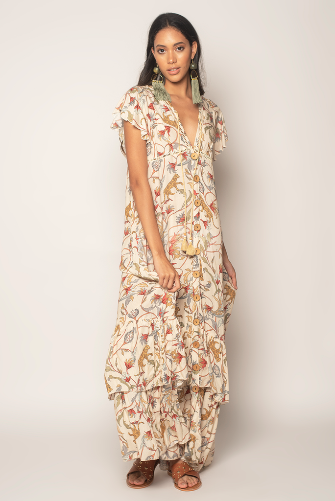 Born To Run Maxi Dress - Z&L Europe