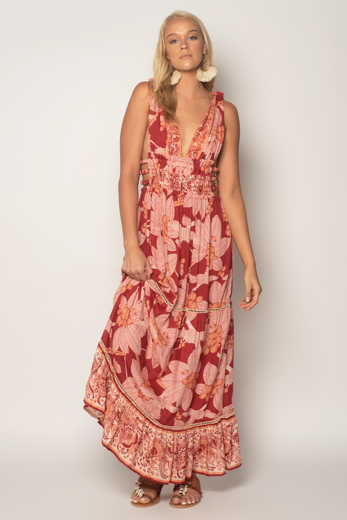 Free Bird Maxi Dress - Z&L Europe