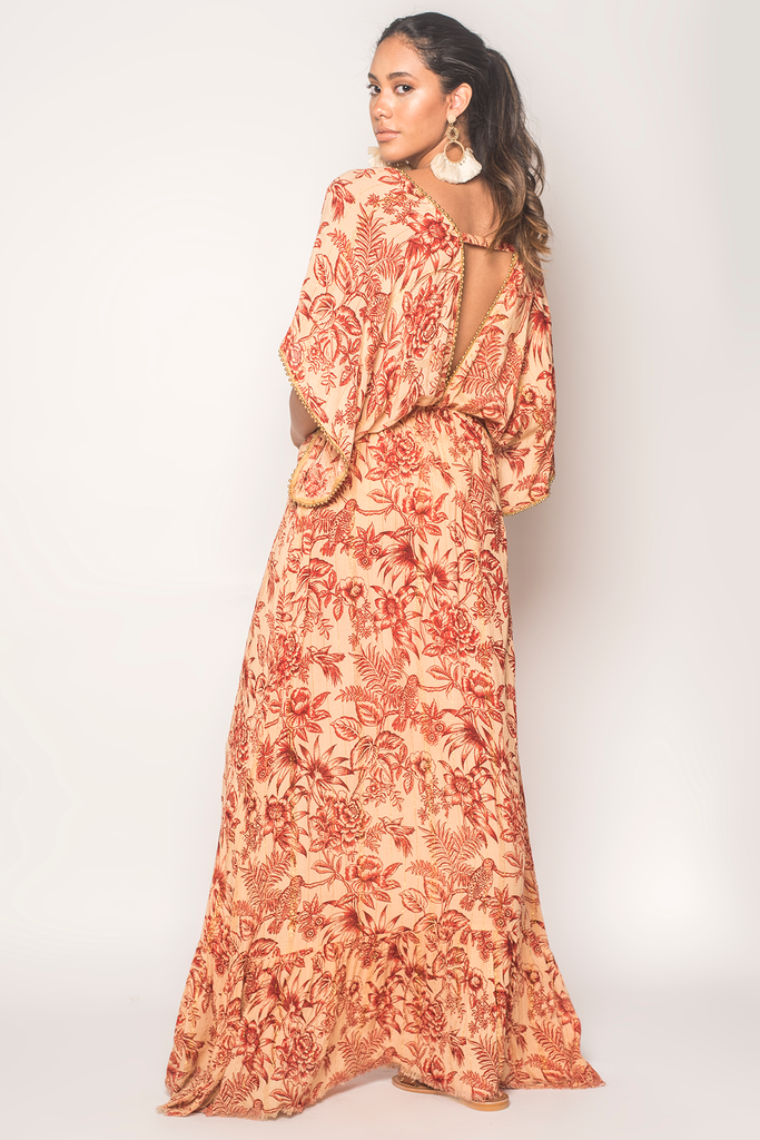 Bloomy Maxi Dress - Z&L Europe