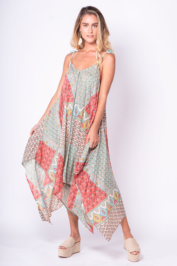 Dancing Queen Scarf Dress - Z&L Europe