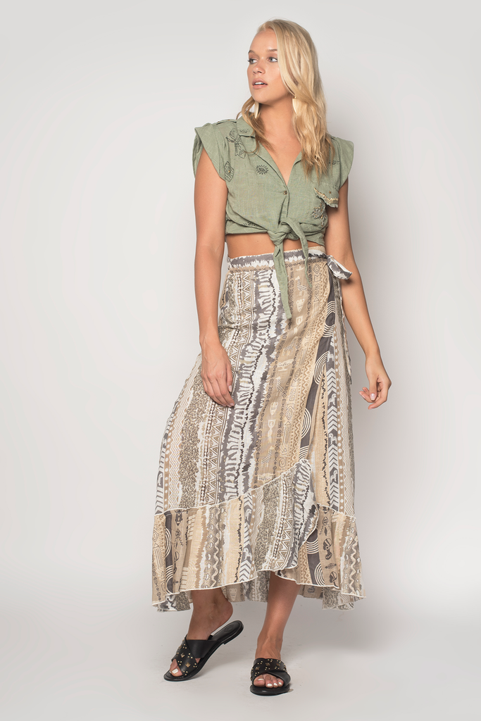 Jamming Wrap Skirt