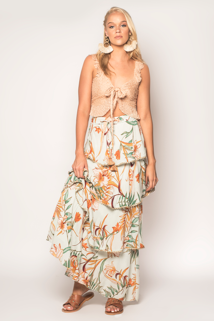 Forever Fields Maxi Skirt - Z&L Europe