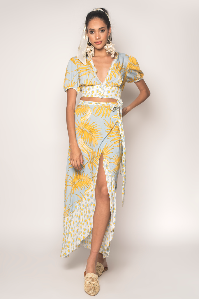 Bananarama Wrap Maxi Skirt - Z&L Europe