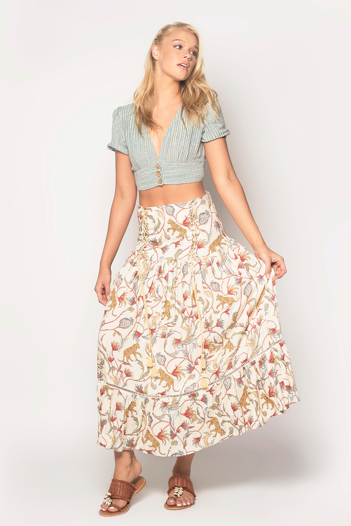 Born To Run Maxi Skirt - Z&L Europe