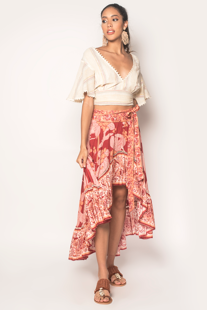 Free Bird Hi-Lo Skirt - Z&L Europe