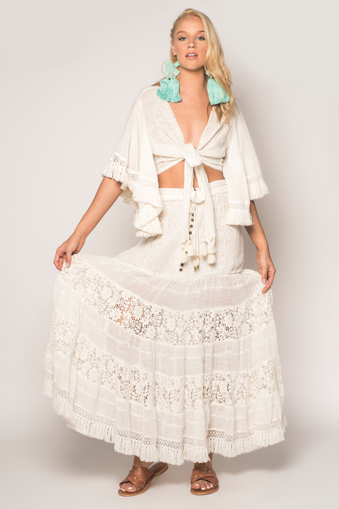 Night Fever Maxi Skirt - Z&L Europe
