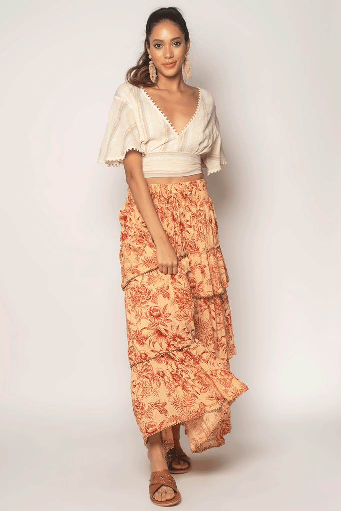 Bloomy Maxi Skirt - Z&L Europe