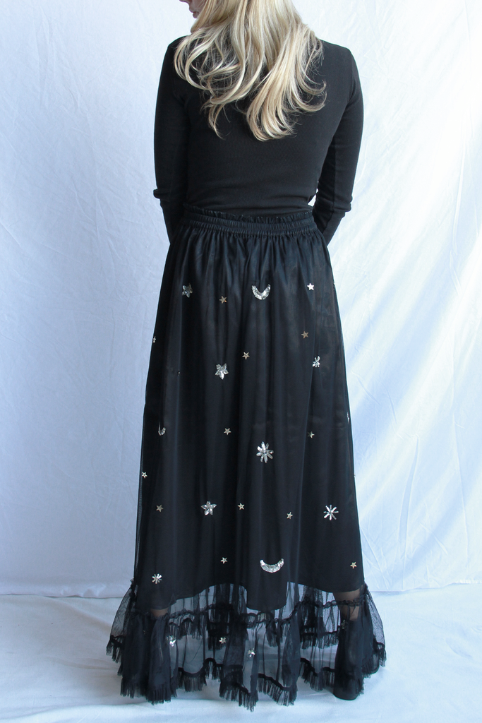 Royal Star Maxi Skirt