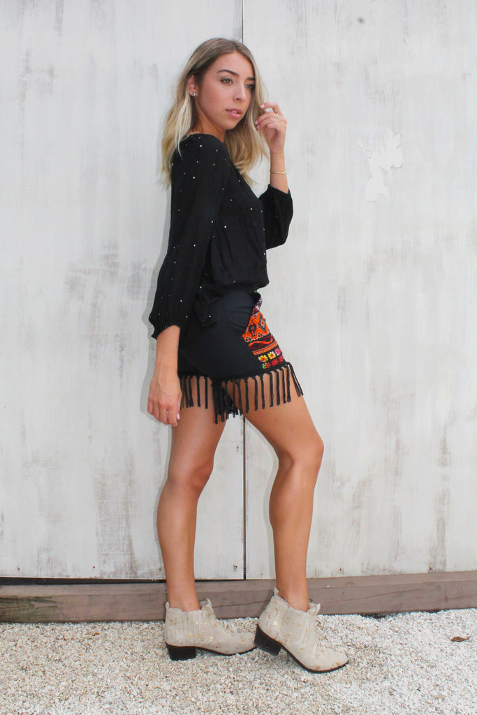 Fringe Party Shorts