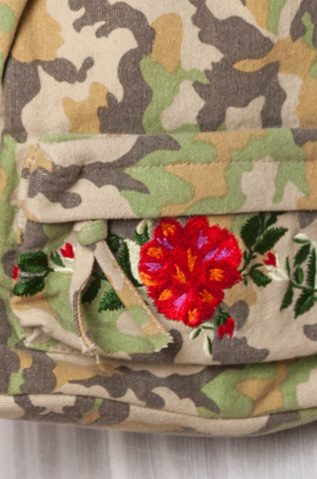 Romantic Camo Backpack
