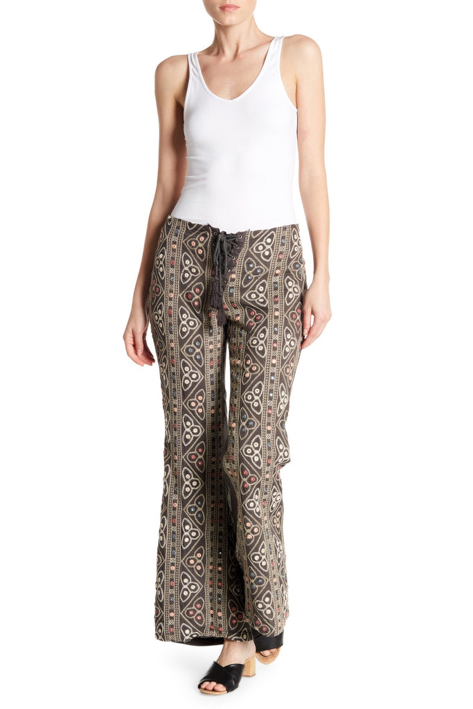 Triad Print Pants
