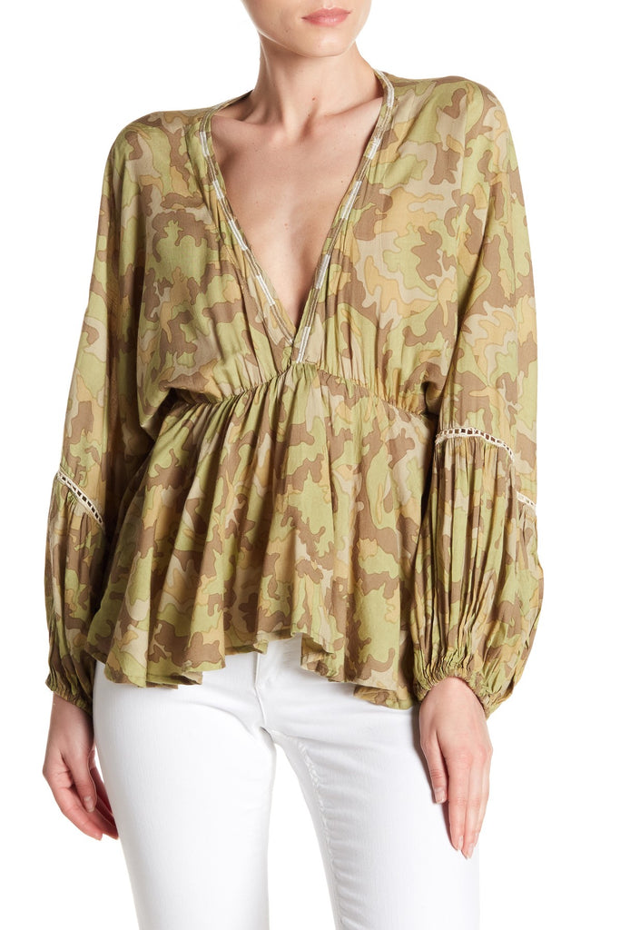 Camo Blouse - Z&L Europe