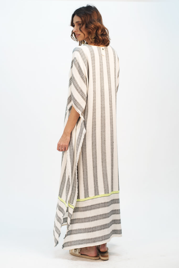 Striped Neon Kaftan