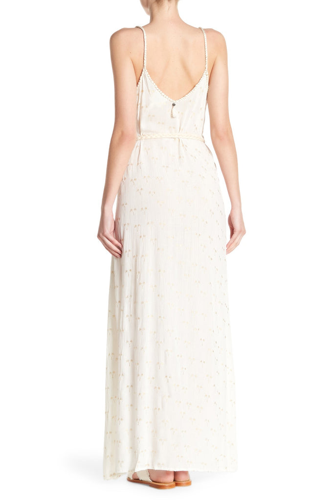 Golden Palm Maxi Dress