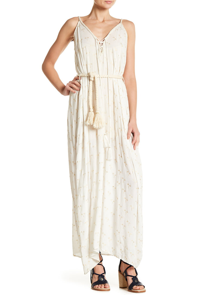 Golden Palm Maxi Dress - Z&L Europe