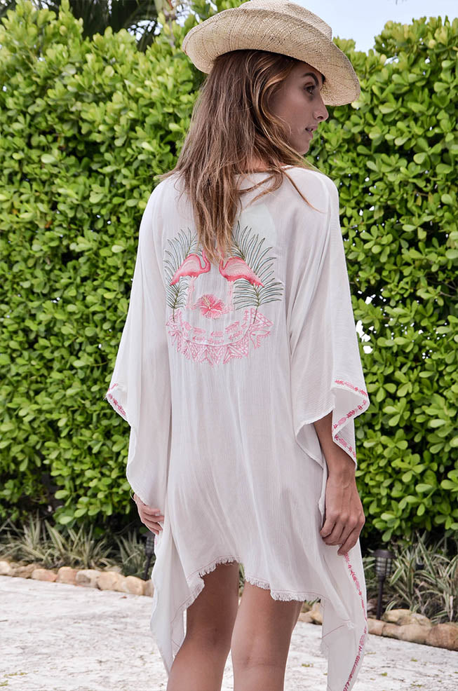 White Flamingo Cover Up - Z&L Europe